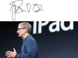 apple-ceo-tim-cooks-sloppy-signature-says-he-doesnt-want-us-to-know-much-about-him