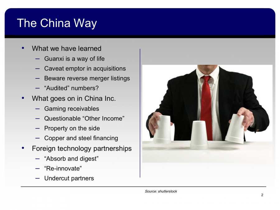 Jim Chanos's New China Presentation Will Have You Convinced