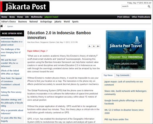 Jakarta Post_Bamboo Innovators