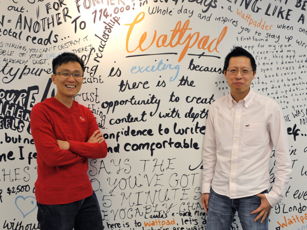 Allen Lau wants Wattpad to be to Internet publishing what YouTube is