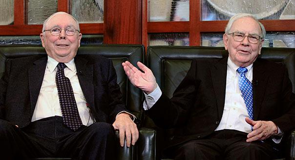 Warren Buffett, Charlie Munger