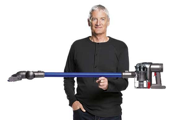 Dyson S Chief Is Not Standing In The Eponymous Inventor S