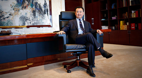 Property Mogul Wang Jianlin of Dalian Wanda-AMC Emerges as
