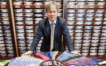 Shirtmaker sees global success from 'old-fashioned values'; Top