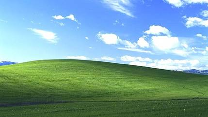 The Iconic Default Windows XP Background Picture Photo Charles ORear World Renowned Photographer Who Took Bliss For