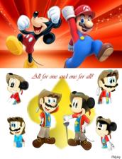 Mickey Mario